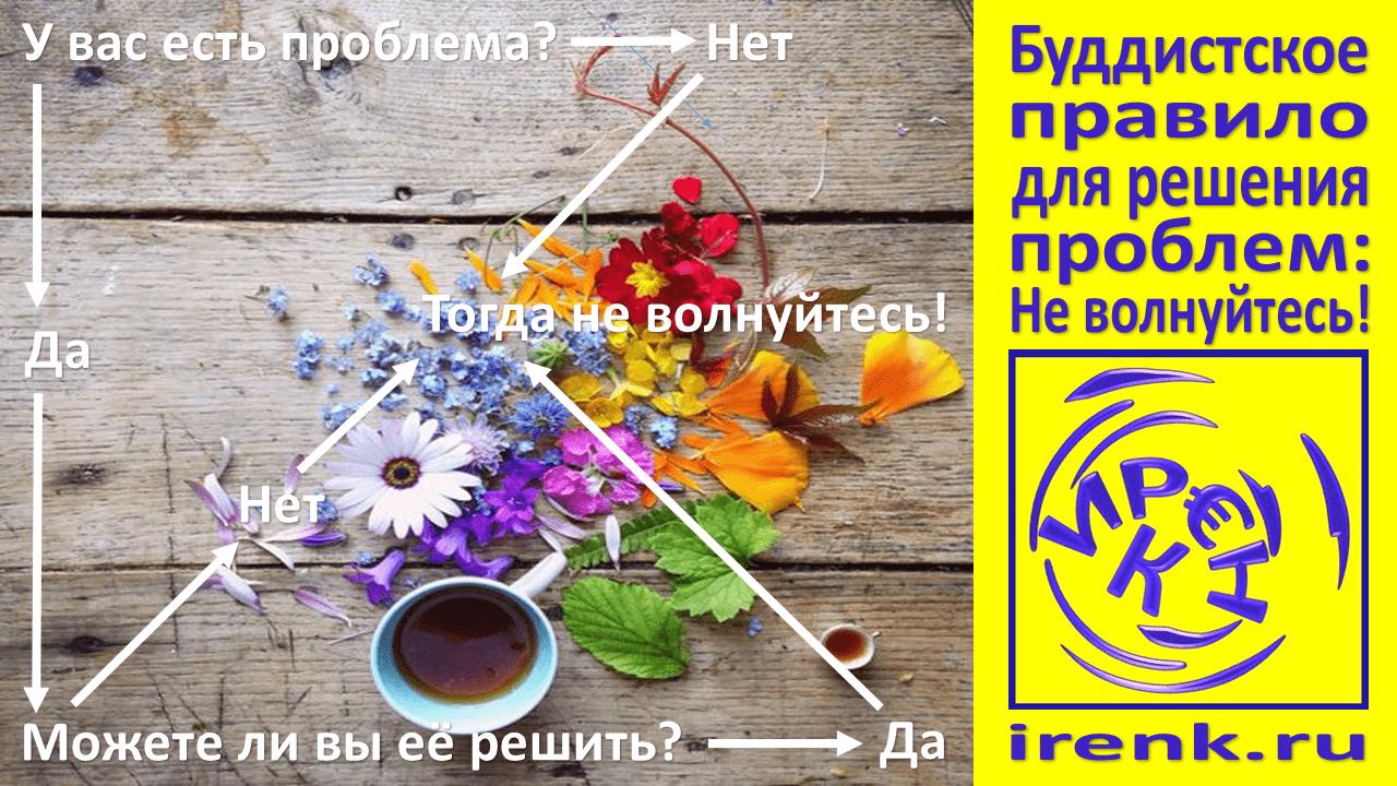 Буддистское правило для решения проблем Не волнуйтесь, Ирина Кириковская,жизнь и бизнес,.png